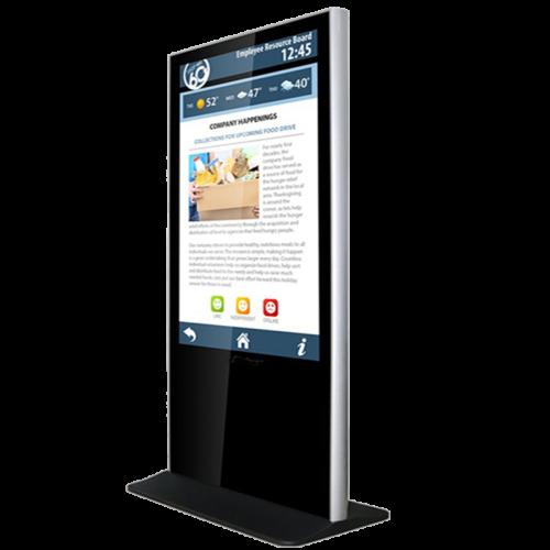Totem, kiosk, bilgilendirme ekranı, reklam ekranı_01